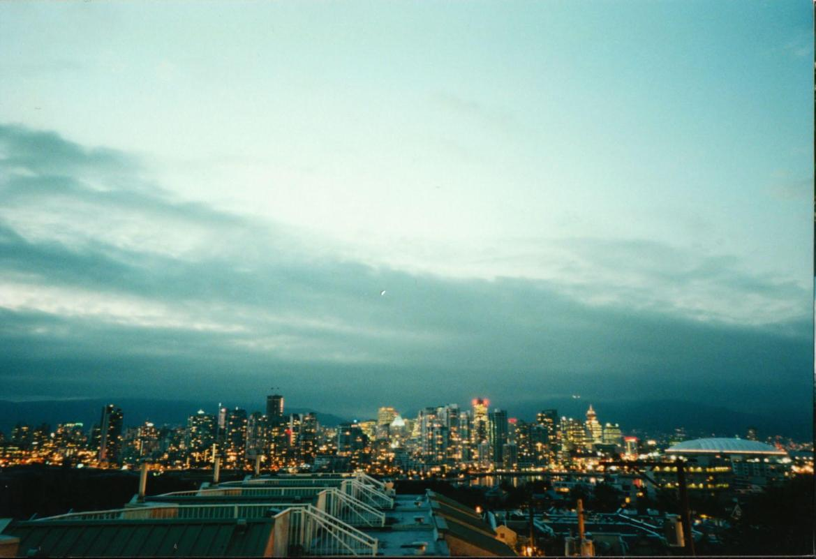 Vancouver British Columbia: You know, Canada's good city.