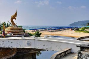 On the beach at Phuket Thailand