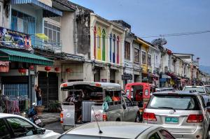 The charm of Phuket Thailand's Old Town.