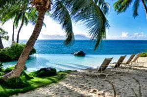 The island of Tahiti