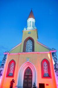 Tahitian church