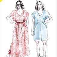 Closet Case Charlie Caftan Pattern front