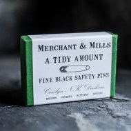 Merchant & Mills Fine Black Safety Pins