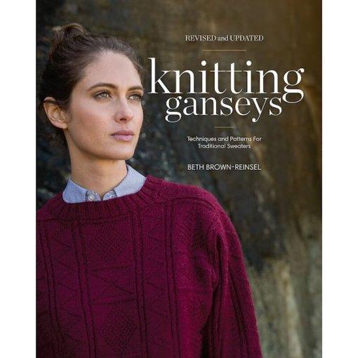 knitting gansey B brown Reinsel