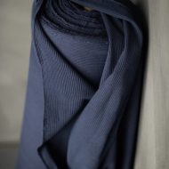 Merchant & Mills Organic Navy Chunky Rib Fabric