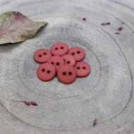 Atelier brunette classic-matte-buttons-terracotta