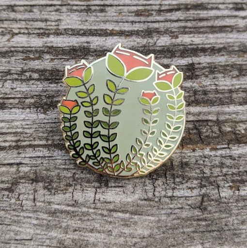 (i never promised you a) yarn garden pin