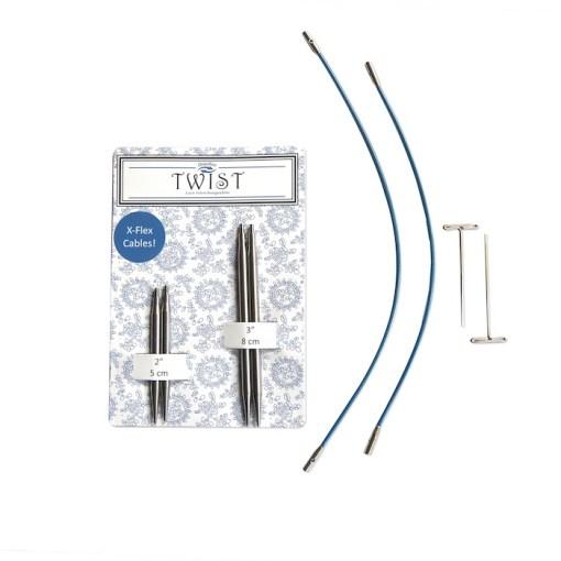 Chiaogoo Twist short combo blue