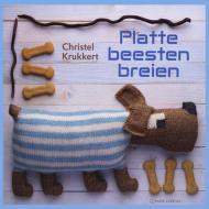 book cover of Platte Beesten Breien - Christel Krukkert