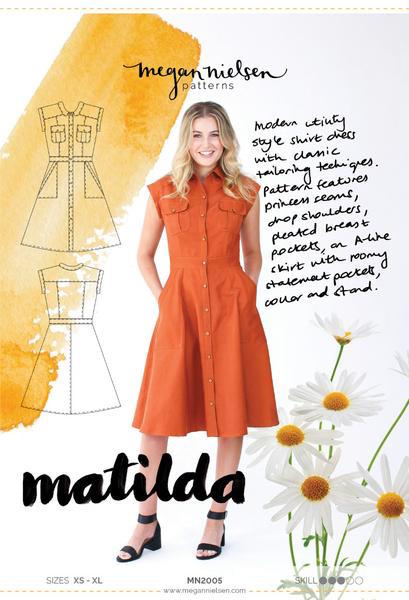 Megan Nielsen Matilda Shirt Dress