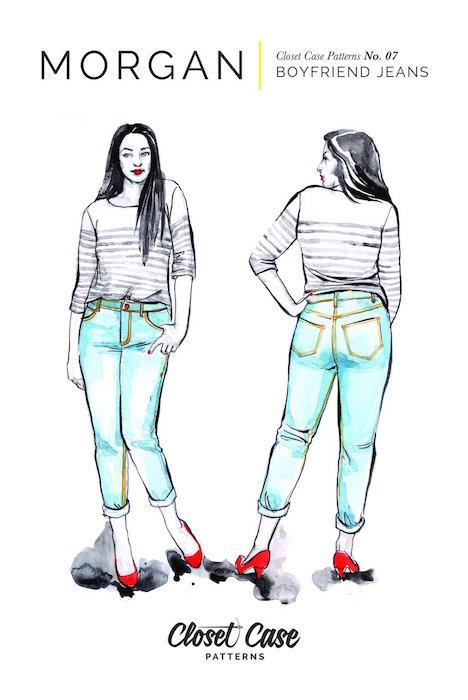 Morgan Jeans Pattern