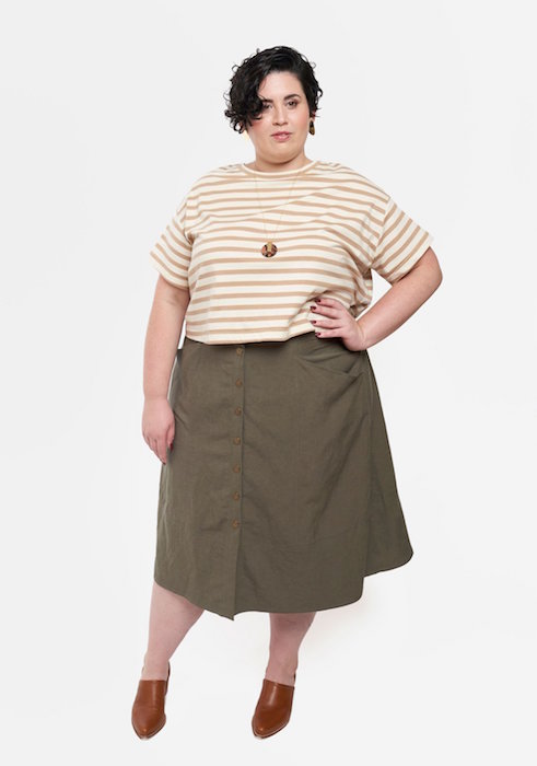 Reed Skirt View B