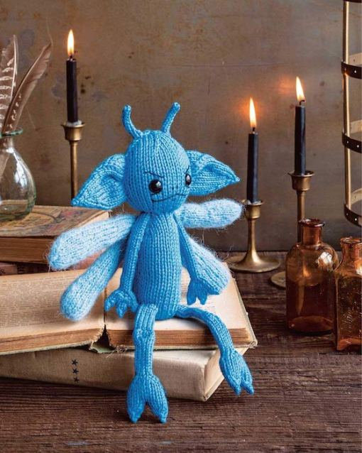 Harry Potter Knitting Magic photo of a cornish pixie