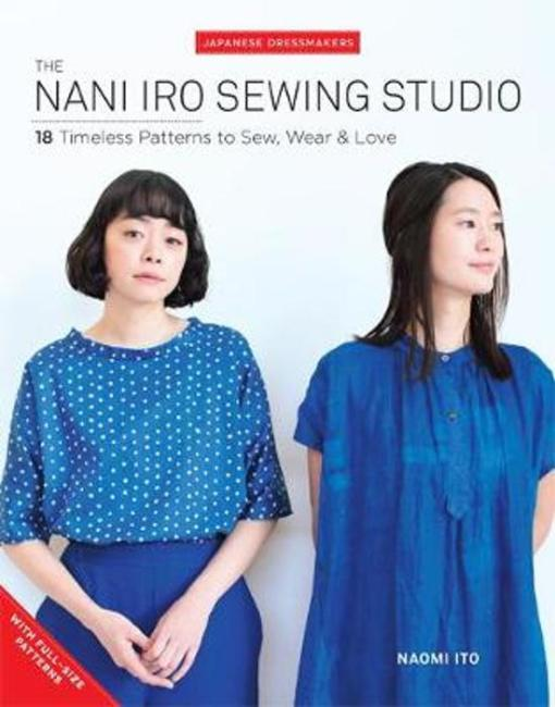 Front Cover of Nani iro studio sewing book