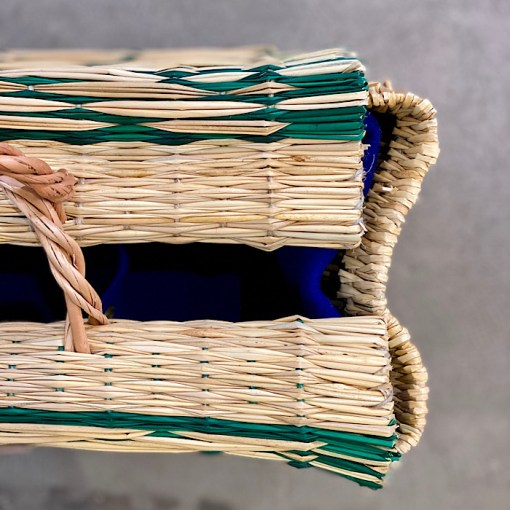 Interior lining in Cesta basket