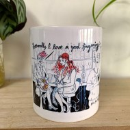 Salinda Jane Art love a good fingering mug
