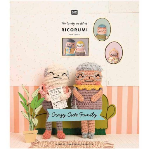 Rico Design - The Lovely World of Ricorumi - Crazy Cute Family