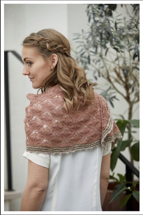 CaMaRose Hydrangeas shawl