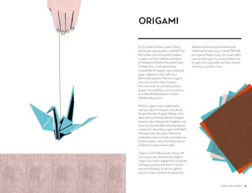 Crafted – A compendium of crafts- New, old & forgotten – Sally Coulthard origami
