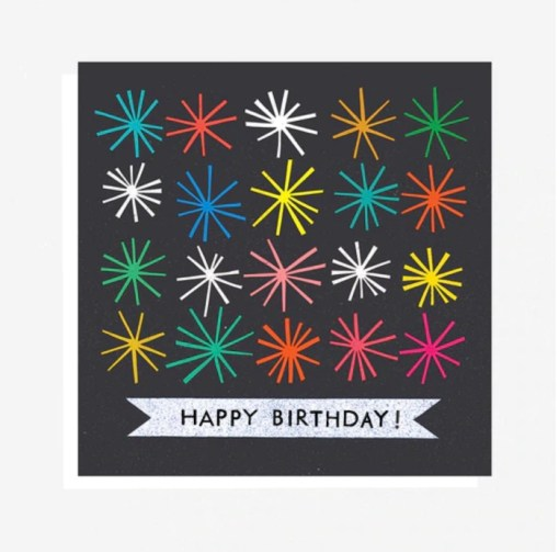 The Printed Peanut Happy Birthday Starburst