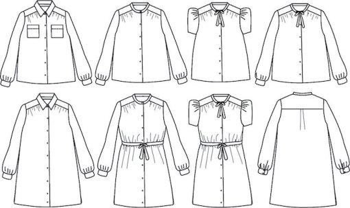 ikatee alex dress or blouse