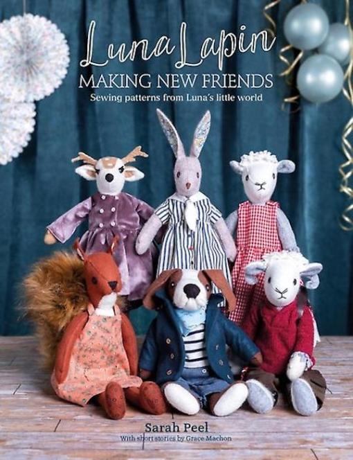 Luna Lapin making new friends - Sarah Peel