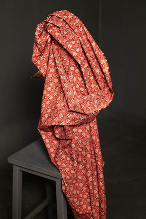 Merchant & Mills Indian Kingly Red Cotton