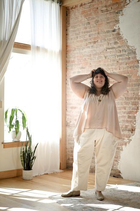Woolfork unique Embody - Jacqueline Cieslak by Pom Pom Press