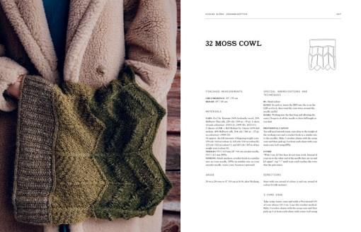 Spread 4 of Laine Publishing - 52 Weeks of Shawls