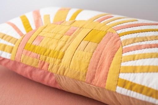 Showcasing pillow Making Magazine - No. 11 DAWN