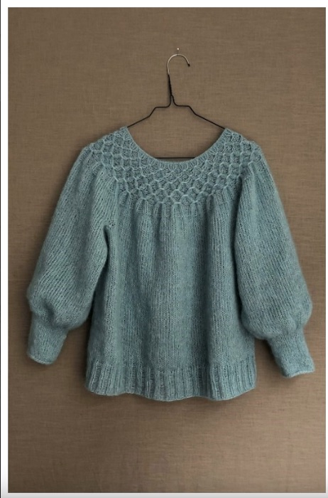 CaMaRose- Beautiful smock sweater
