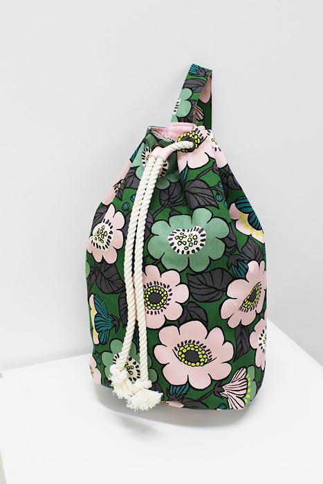 kokko fabric jambo drawstring bag
