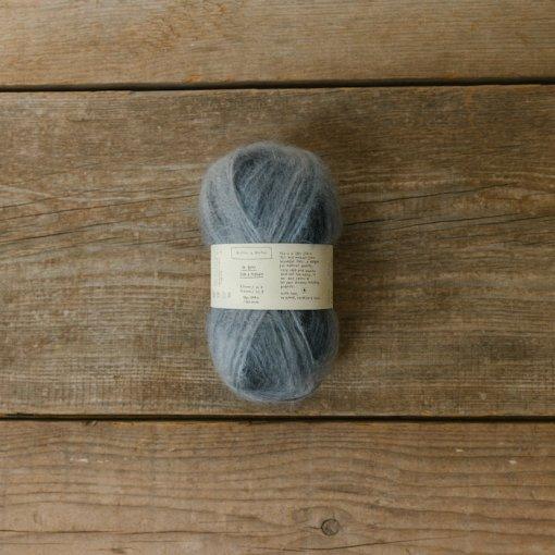 Biches & Bûches le gros mohair dark grey variegated