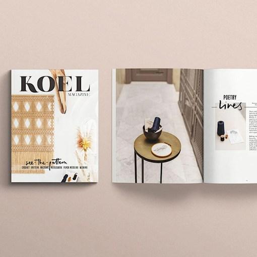 flatlay Koel Magazine Issue 11/2021 article