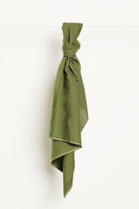 mind the MAKER nisa softened linen olive green