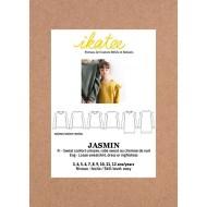 Front cover Jasmin Sweatshirt/Dress - Ikatee Paper Sewing Pattern