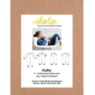 Gaby Jumpsuit - Ikatee Paper Sewing Pattern Front cover
