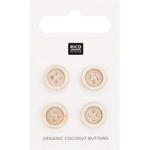 Rico Design coconut buttons