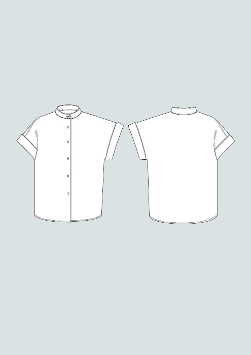 The Assembly Line Cap sleeve shirt