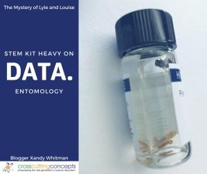 STEM Kit Heavy on Data: Entomology