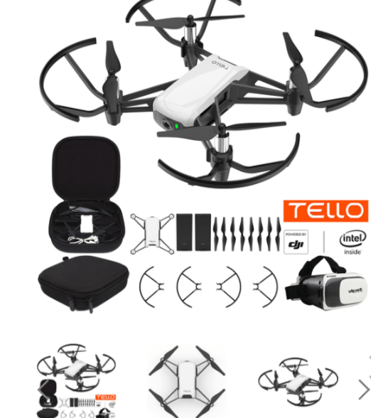 Aeronautics:  Coding Drone Using DJI Tello