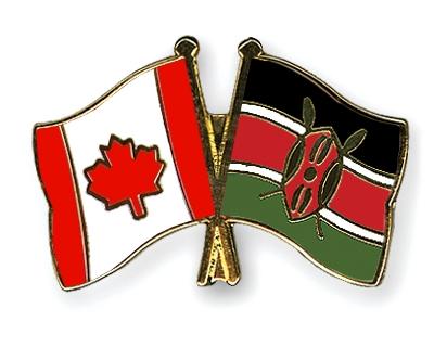 Image result for canada kenya flag