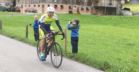 Inferno Triathlon Radfahrer