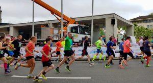 Aargau Marathon, Start Sefan Wettstein