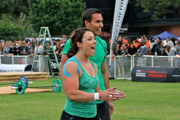Nichole and Shane of Invictus Fitness at CrossFit Regionals