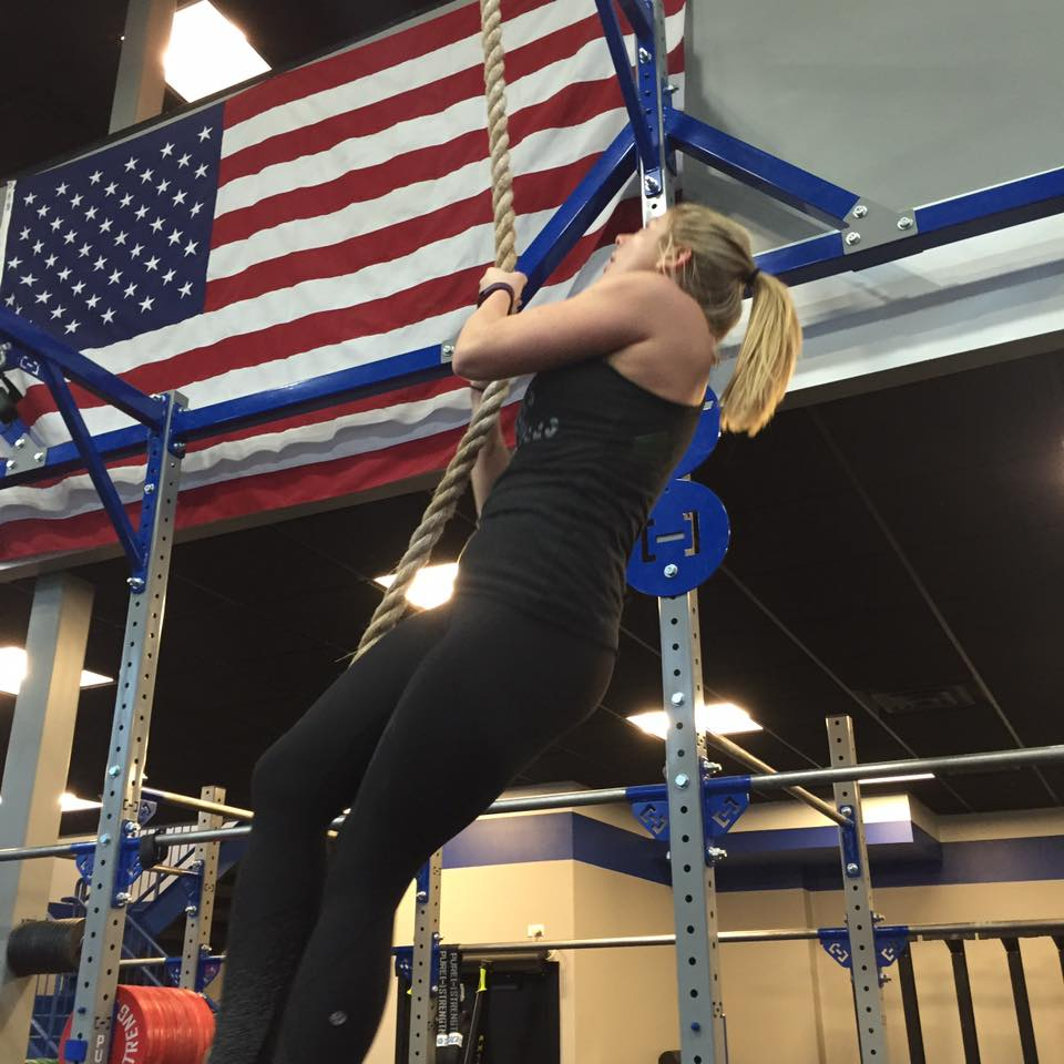 America...and rope climbs.