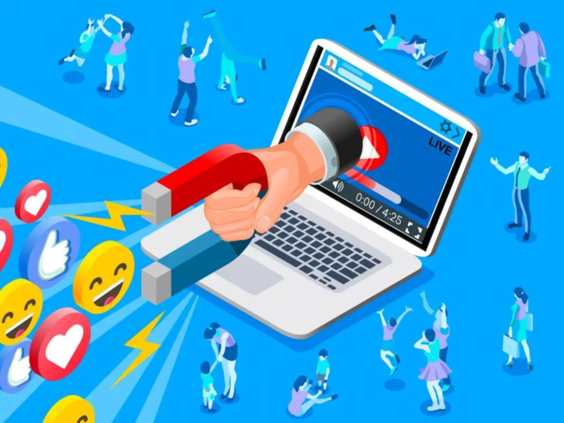 Como atrair clientes nas redes sociais com lives?