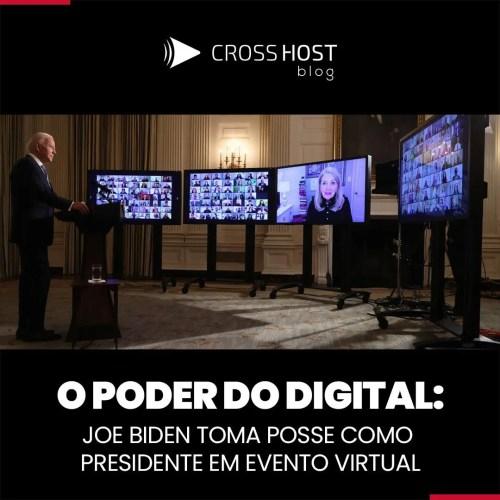 Joe Biden toma posse como presidente em evento virtual