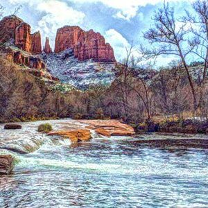 New Year's Eve weekend retreat in Sedona, ceremony, mystic insights, nature