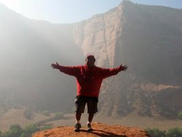 Navajo host Canyon de Chelly